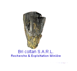 Bri coltan soci t de recherche d 39 extraction et d - Bureau de recherche geologique et miniere ...